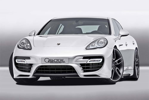 Panamera 970 Front Bumper Without Any Option
