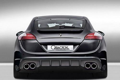 Caractere Rear Bumper With Diffuser, fits Porsche Panamera 970