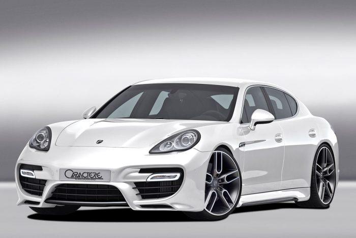 Caractere Turbo Lights Option, fits Porsche Panamera 970 Non-Turbo Models