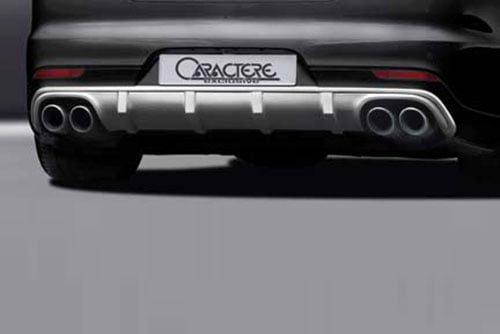 Panamera 970 FL Rear Diffuser