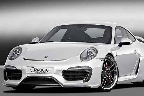 Caractere Front Bumper Complete, fits Porsche 991
