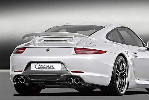 Caractere Rear Diffuser, fits Porsche 991