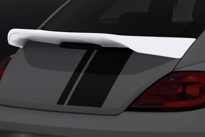 Caractere Trunk Spoiler with Carbon-Look Vinyl Upper Face, fits Volkswagen Beetle