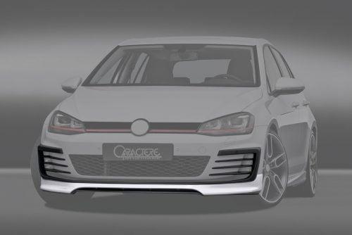 Caractere Front Spoiler, fits Volkswagen Golf 7 GTI / GTD