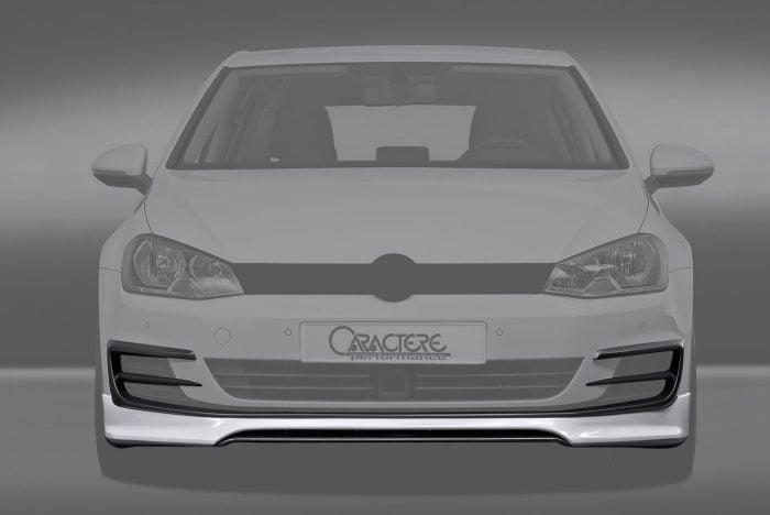 Caractere Front Spoiler, fits Volkswagen Golf 7