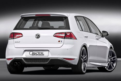 Golf 7 Rear Diffuser with 1 Large Cutting for 1.4 TSI / 1.8TSI / 2.0 TDI