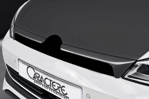 Caractere Front Grille Add-On (2 pieces) with Caractere Badge, fits Volkswagen Golf 7