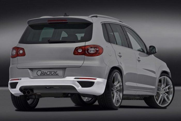 Caractere Front Bumper, fits Volkswagen Tiguan Mk1