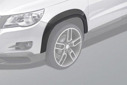 Caractere Wheel Arch Extensions Set with Parking Sensors, fits Volkswagen Tiguan Mk1