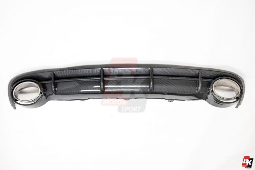 BKM Rear Diffuser (RS Style - Carbon), fits Audi A6 C7.0