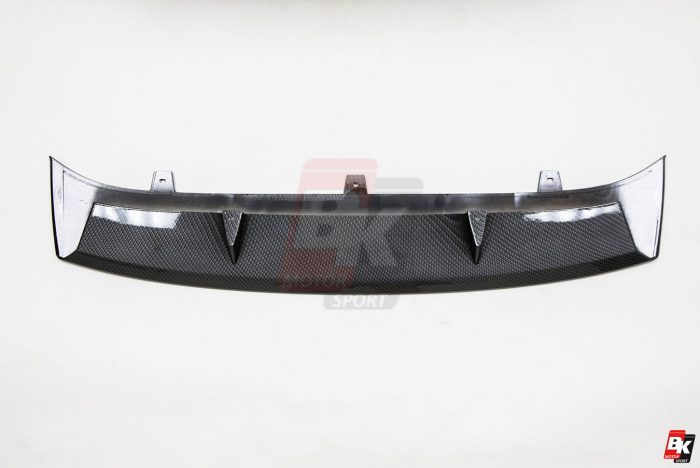 BKM Front Bumper Kit with Rear Diffuser (RS Style - Carbon), fits Audi A6 C7.0