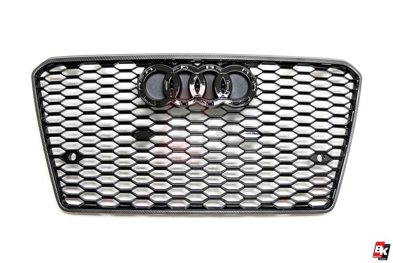 BKM Front Bumper Kit with Front Grille (RS Style), fits Audi A7/S7 C7.0