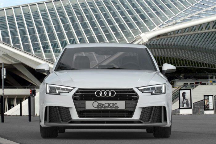 Caractere Front Bumper Kit, fits Audi A4/S4 B9