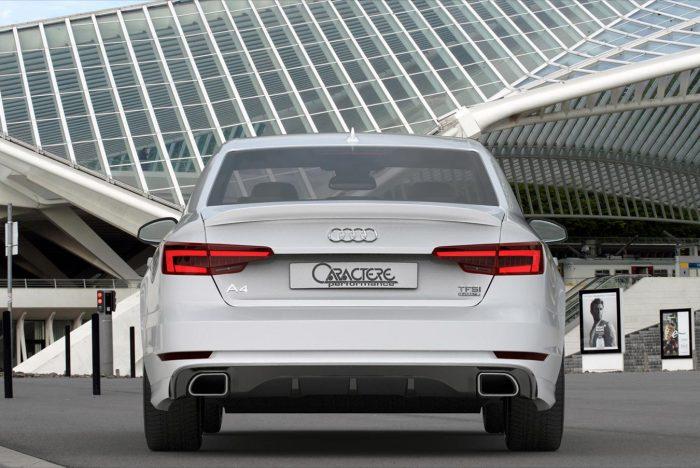 Caractere Rear Wing, fits Audi A4/S4 B9