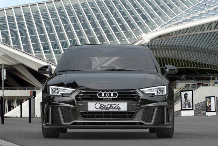 Caractere Front Bumper Park Assist Option, fits Audi A4/S4 B9