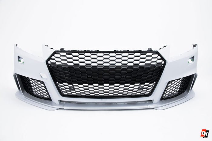 BKM Front Bumper Kit with Front Grille (RS Style), fits Audi TT/TTS Mk3