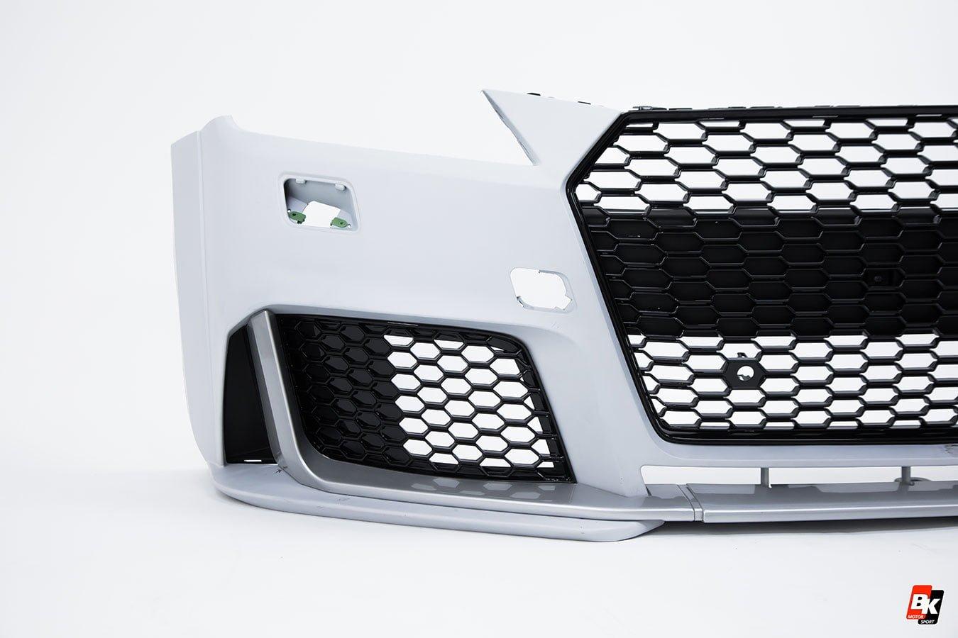 Bkm Front Bumper Kit With Front Grille Rs Style Fits Audi Tttts