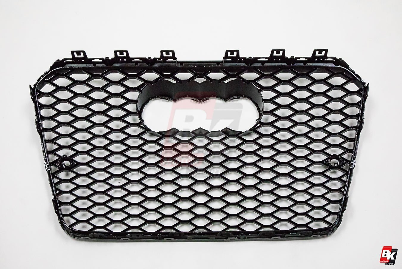 BKM Front Grille with Black Frame (RS5 Style), fits Audi A5/S5 B8.5