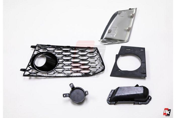 BKM Front Bumper Kit, fits Audi A6/S6 C7.0