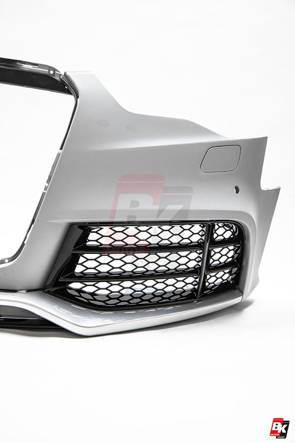 BKM Front Bumper Kit without Front Grille (RS Style), fits Audi A5/S5 B8.5