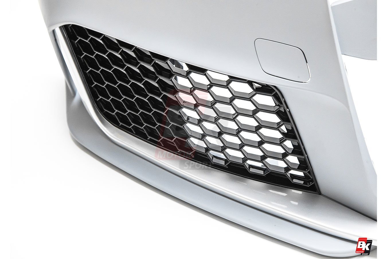 BKM Front Bumper Kit without Front Grille (RS Style), fits Audi A4/S4 B9