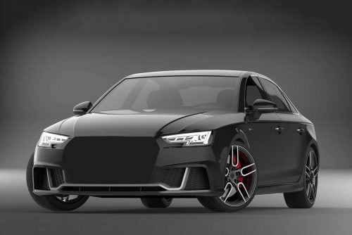 Caractere Body Kit with ACC Option and Front Grille (RS4 Style), fits Audi A4 B9 S-Line 2.0 TFSI