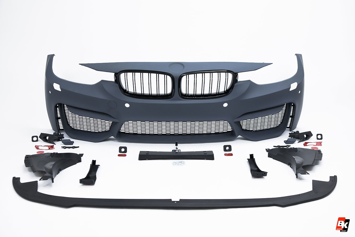 Bkm Front Bumper Set M3 Style Fits Bmw Model 3 F30 Bk Motorsport