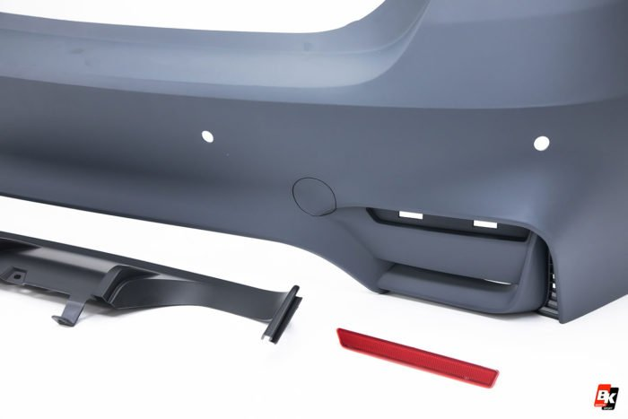 BKM Rear Bumper Set (M3 Style), fits BMW Model 3 F30