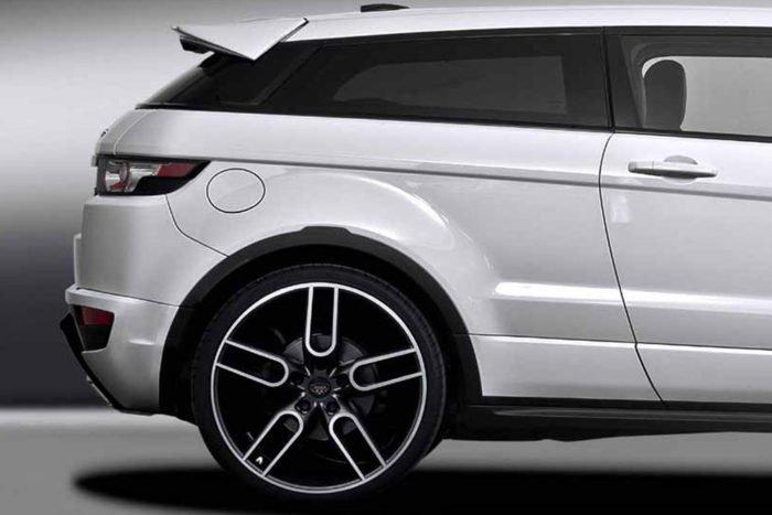 "CW1 Graphite Wheel Set for Range Rover Evoque 9.0x20""/21""/22"""
