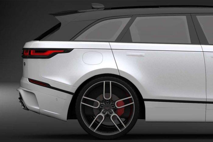 """CW1 Graphite Wheel Set for Range Rover Velar 9.0x20"""""""