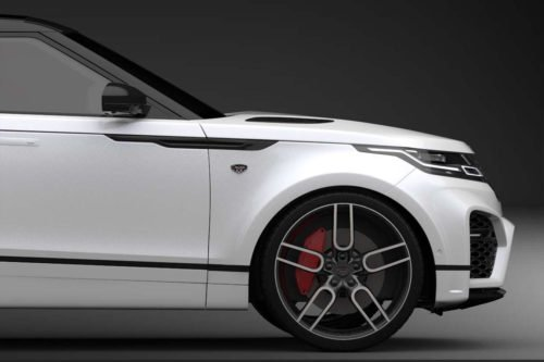 CW1 Graphite Wheel Set for Range Rover Velar 9.0x20""