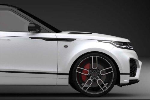 "Caractere CW1 Graphite Wheel Set 9.0x20"", fits Range Rover Velar"