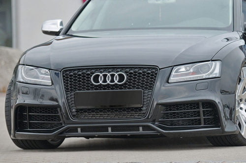 BKM Front Bumper Kit with Front Grille (RS Style), fits Audi A5/S5 B8.0