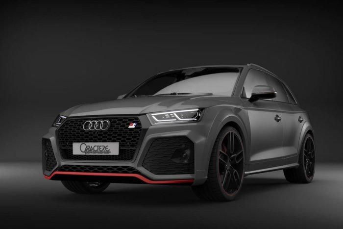 Caractere Front Bumper, fits Audi Q5/SQ5 B9