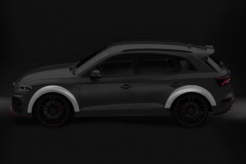 Caractere Wheel Arch Extensions Park Assist Option, fits Audi Q5/SQ5 B9