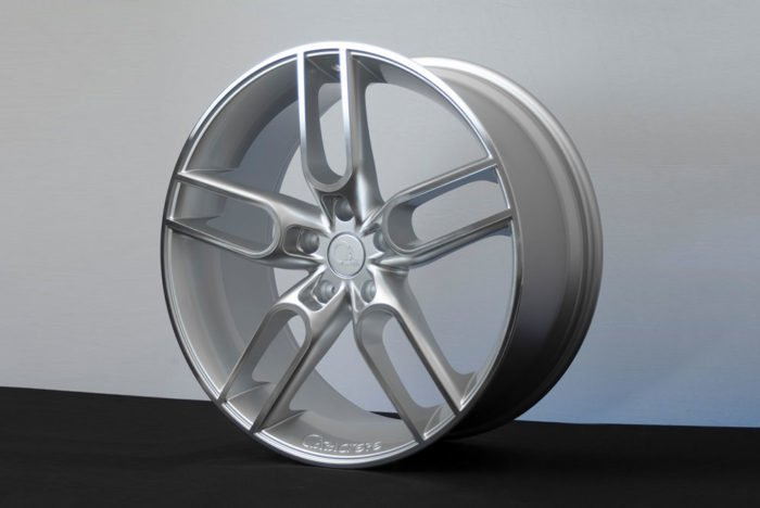 "CW1 Wheel for Porsche Panamera, 21"", Silver, Front Axle"