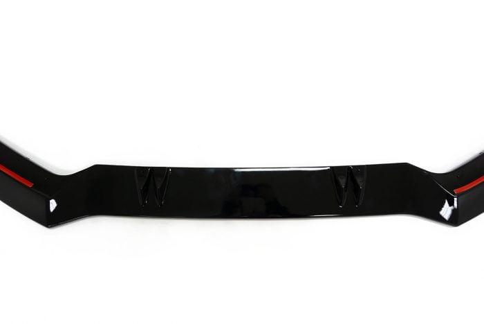 BKM Front Lip for BKM Bumper, Glossy Black, fits Audi A3/S3 8V