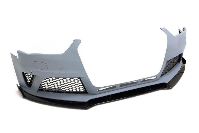 BKM Front Bumper Kit with Lip, fits Audi A4/S4 B8.5