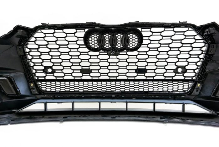 BKM Front Bumper Kit with Front Grille (RS5 Style), fits Audi A5/S5 B9.0