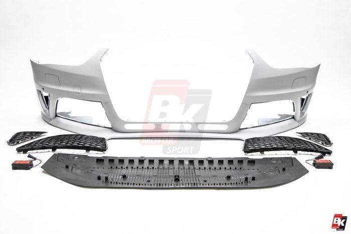 BKM Front Bumper, fits Audi A4/S4 B8.5