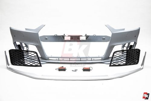 BKM Front Bumper, fits Audi A4/S4 B9