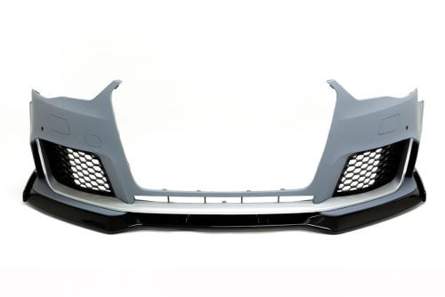BKM Front Bumper with Front Lip, fits Audi A3/S3 8V0