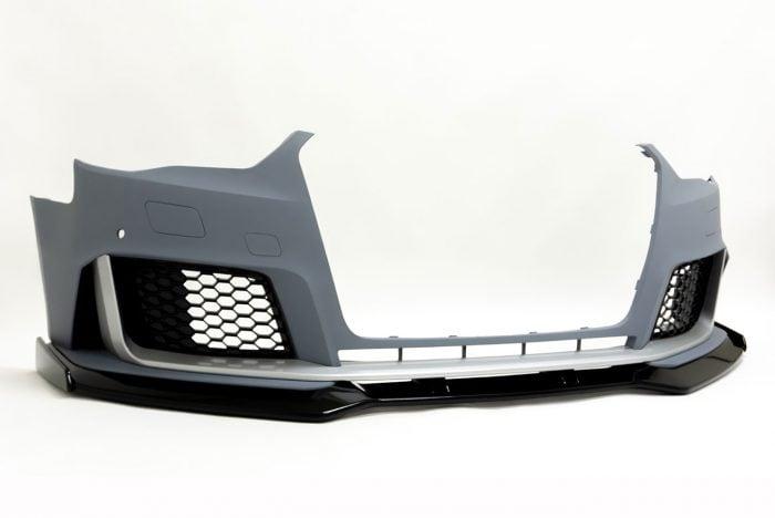 BKM Front Bumper with Front Lip, fits Audi A3/S3 8V0