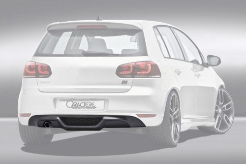 Caractere Rear Spoiler, fits Volkswagen Golf 6 1.2/1.6TDI