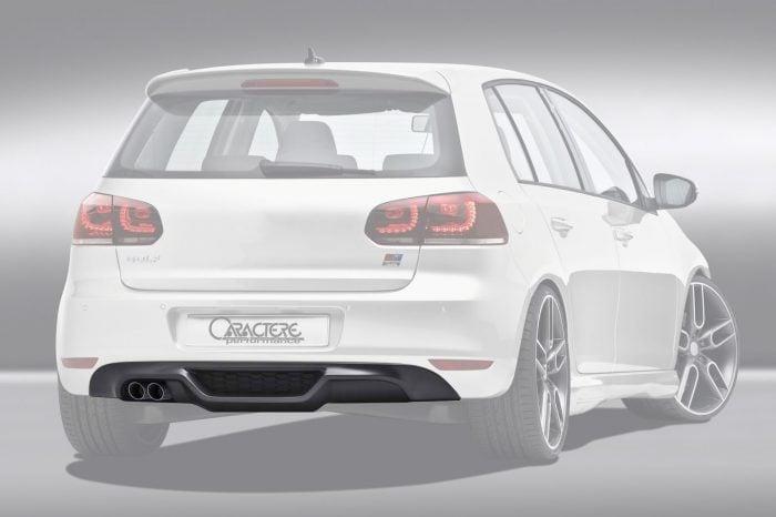 Caractere Rear Spoiler, fits Volkswagen Golf 6 1.4TFSI/2.0TDI