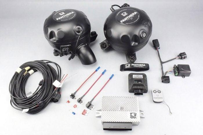 Panthera Leo Lite Active Sound Generator with 2 Speakers
