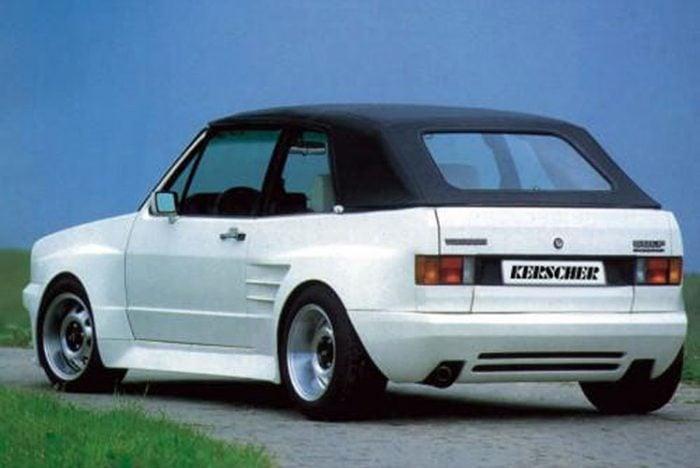 Kerscher Wide Body Kit, fits Volkswagen Golf Mk1 Cabrio