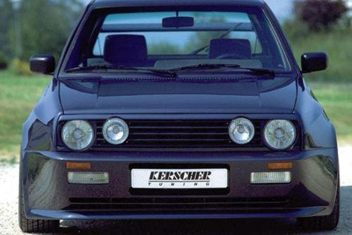 Kerscher Wide Body Kit, fits Volkswagen Golf Mk2
