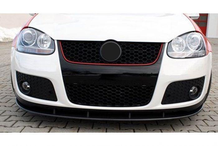 Kerscher Front Spoiler Splitter Carbon, fits Volkswagen Golf Mk5 GT/GTI