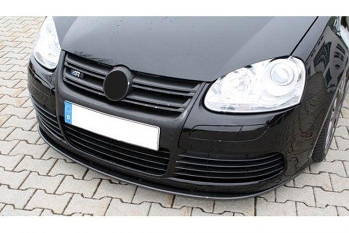 Kerscher Front Spoiler Splitter Carbon R32, fits Volkswagen Golf Mk5